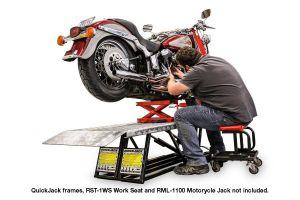 QuickJack motorcycle lift adapter kit