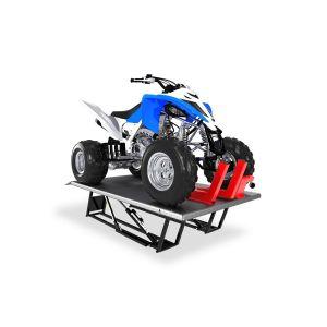QuickJack ATV lift adapter with wider platform